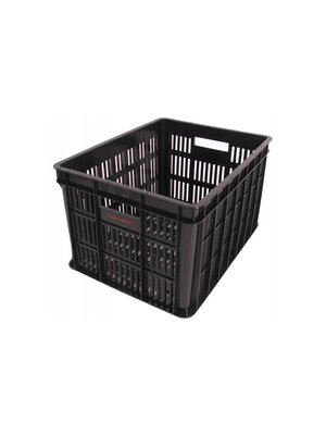 Edge Fietskrat Edge Urban Crate - Medium - Zwart