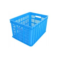 Fietskrat Edge Urban Crate - Medium - Blauw