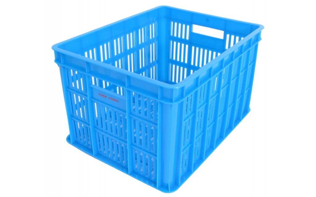 Edge Fietskrat Edge Urban Crate - Medium - Blauw