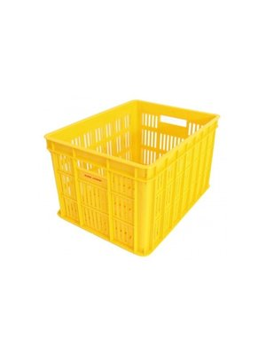 Edge Fietskrat Edge Urban Crate - Medium - Geel