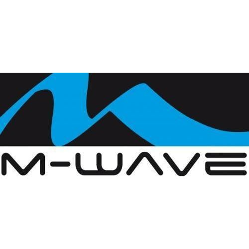 M-Wave M-Wave Broekklem  Chroom Met Reflectie (Stel)