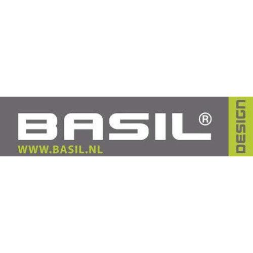 Basil Tas Basil Tour Dubbel 26L - Zwart | Zilver