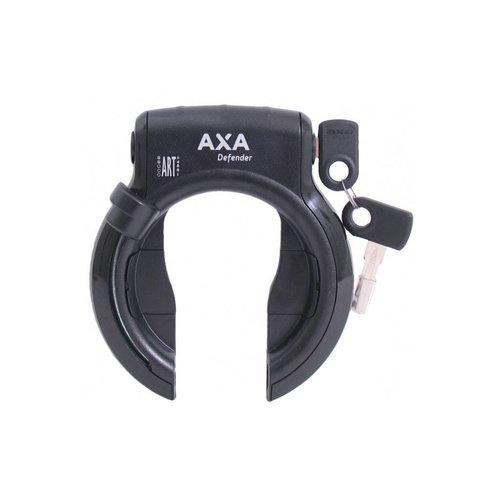 AXA Duo Deal AXA Defender Ringslot + RLC100 insteekketting Zwart