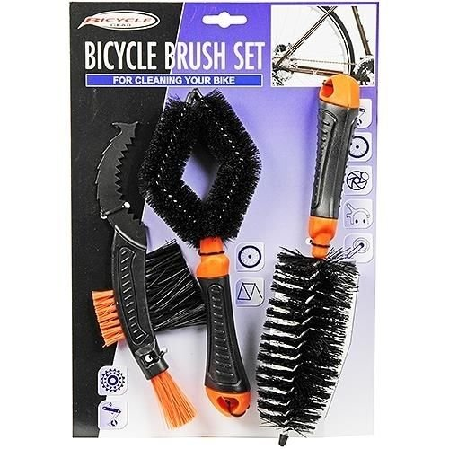 Bicycle Gear Bicycle Gear Borstelset - 3-delig