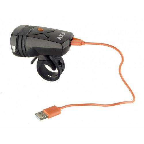 AXA Axa Greenline Koplamp - 35 Lux - USB oplaadbaar