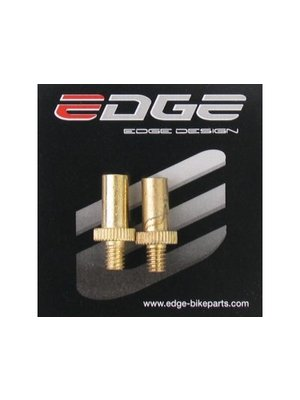 Edge Verloopnippel Frans / Sclaverand ventiel (2 stuks)