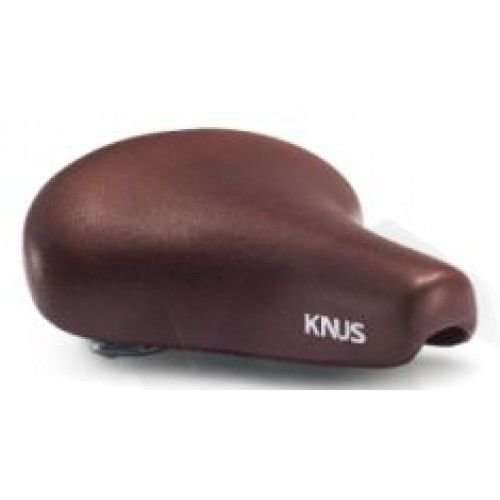 KNUS Fietszadel Knus Retro met strop - KS9038D - Bruin