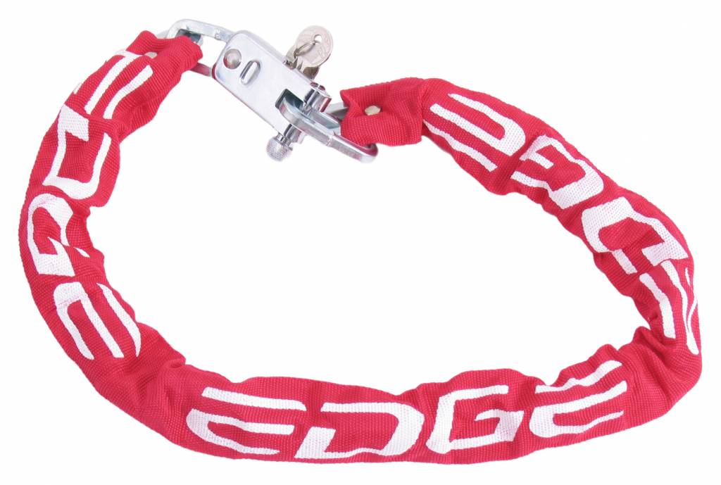 Edge Kettingslot Edge City 70 - ø 7mm x 120cm - Rood