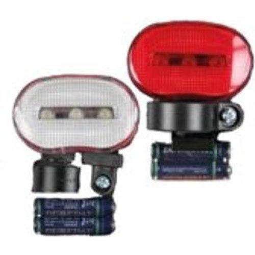 Benson Benson Fietsverlichtingset Kate - Voor + Achter - incl. batterijen