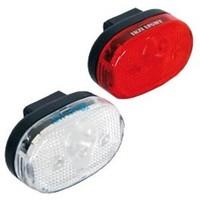 Ikzi Light Fietsverlichting LED-set - Voor + Achter