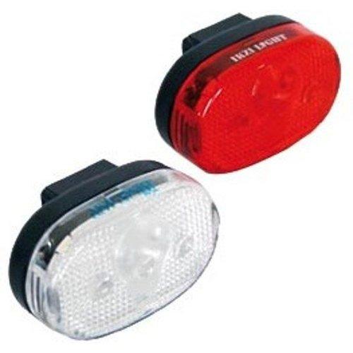 Ikzi Ikzi Light Fietsverlichting LED-set - Voor + Achter