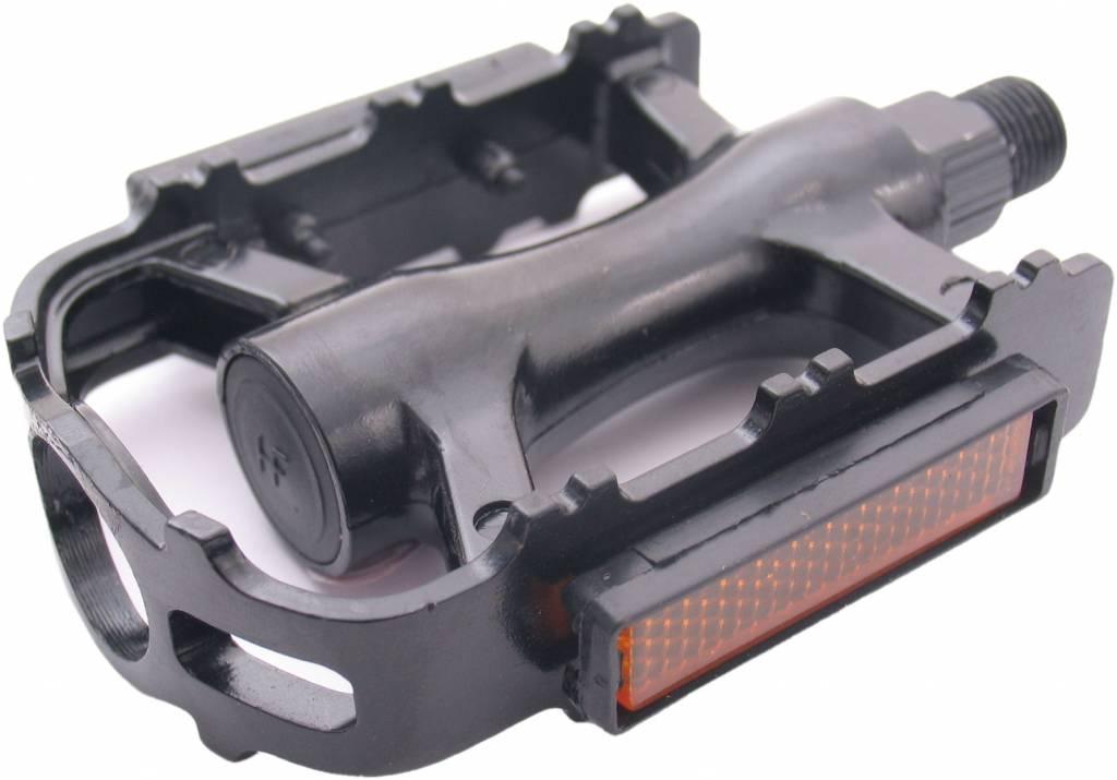 Edge Fietspedalen Edge MTB/Trekking Luxe - aluminium zwart