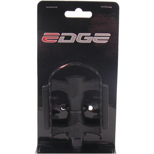 Edge Pedalen Edge MTB kunststof met ijzeren rand - zwart