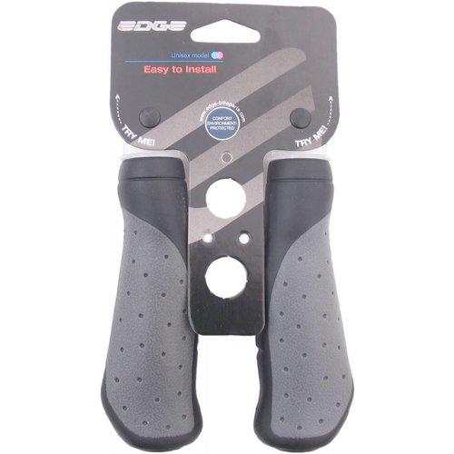 Edge Handvatset Edge ErgoCity - 135mm - zwart/grijs