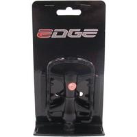 Fietspedalen Edge MTB Low Profile - Alu zwart met polish zijkant