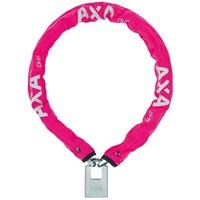 Kettingslot AXA Clinch+ 85cm / ø6mm - roze (winkelverpakking)