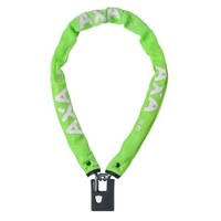 Kettingslot AXA Clinch+ 85cm / ø6mm - groen (winkelverpakking)
