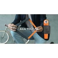 Vouwslot Axa Toucan 80 - donkergrijs (winkelverpakking)