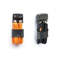 Vouwslot AXA Foldable 800 100/8 - grijs (winkelverpakking)