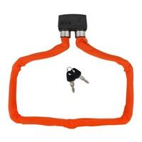 Vouwslot AXA Foldable 800 100/8 - oranje (winkelverpakking)