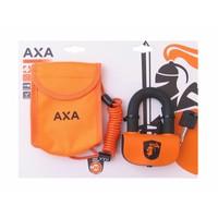 Schijfremslot AXA Pro Disc Set ART4  ø13mm - oranje (op kaart)