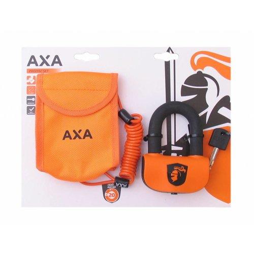 AXA Schijfremslot AXA Pro Disc Set ART4  ø13mm - oranje (op kaart)