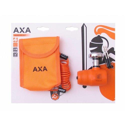 AXA Schijfremslot AXA Pro Block set ART4 ø13mm - oranje (op kaart)