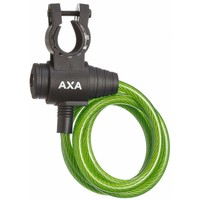 Spiraalkabelslot AXA Zipp 120/8 - groen (op kaart)