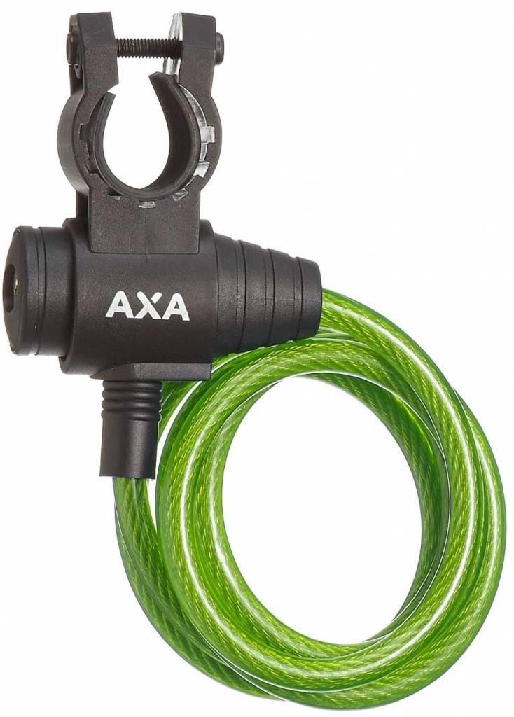 Axa spir kabelslot Zipp 120-8 grn