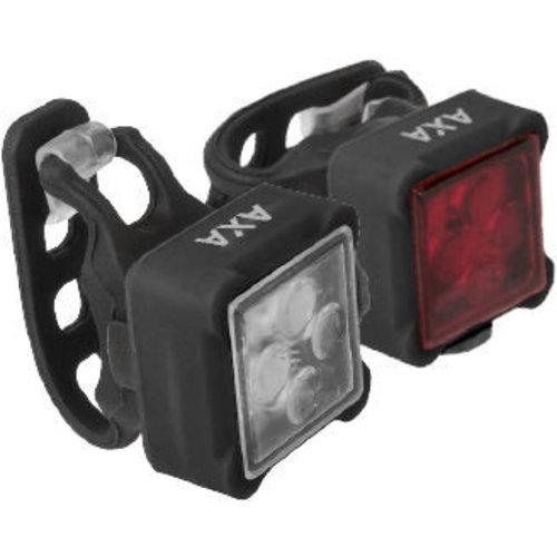 AXA Verlichtingsset Axa Niteline 44-R USB