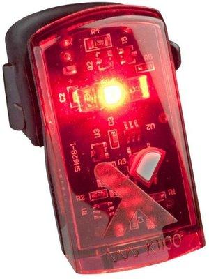 AXA Achterlicht AXA Greenline 1 LED - USB oplaadbaar