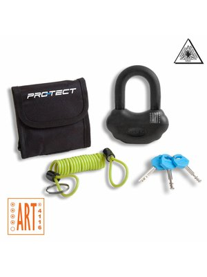 Pro-Tect Schijfremslot Topaz ART-4 - Zwart / Blauw