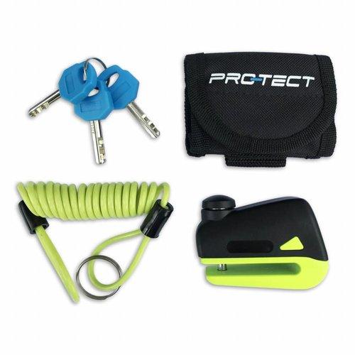 Pro-Tect Pro-Tect Schijfremslot Disq Mini - Geel