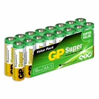 Super Alkaline Aa-Batterijen 16pk