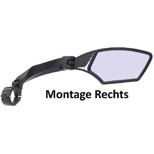 Mirage Mirage Speed Pedelec Fietsspiegel Rechts - Zwart