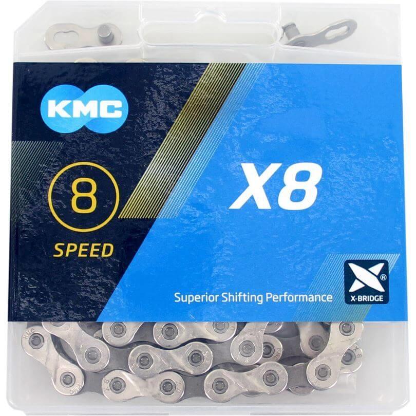 KMC KMC X8 Ketting - 6/7/8 Speed - 1/2