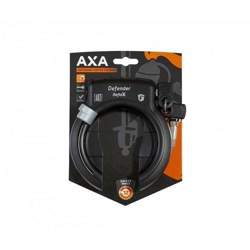 AXA Ringslot AXA Defender Limited Edition - Mat Zwart Reflex