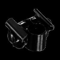 Zadelstrop - 1 Moer - Zwart