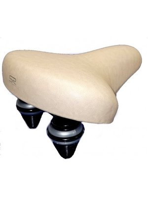 Selle Royal Selle Royal Zadel 8965 - Creme / Khaki - met strop