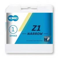 "KMC Z1 Narrow Ketting - 1 Speed - 1/2"" x 3/32"" - 112 Schakels"