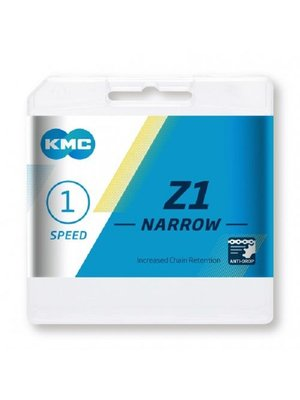 "KMC KMC Z1 Narrow Ketting - 1 Speed - 1/2"" x 3/32"" - 112 Schakels"