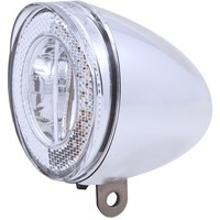Koplamp Spanninga Swingo XB LED met reflector incl. batterijen - chroom