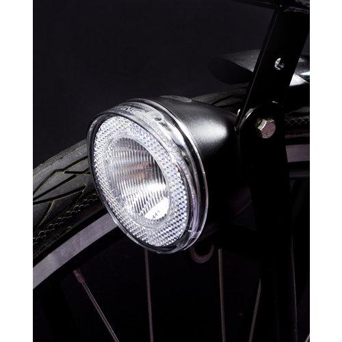 Spanninga Koplamp Spanninga Swingo XB LED met reflector incl. batterijen - zwart