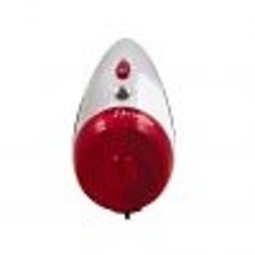Spanninga Achterlicht Spanninga Retro Nr. 9 XB - Chroom / Zwart