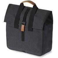 Basil Urban Dry Shopper Fietsshopper 20 liter - Charcoal Melee