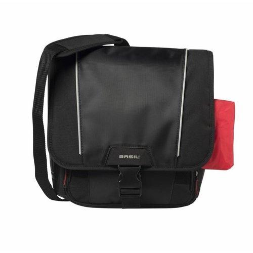 Basil Fietsschoudertas Basil Sport Design 18 liter - zwart