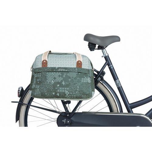 Basil Enkele fietstas Basil Bohème Carry All - 18 liter - groen