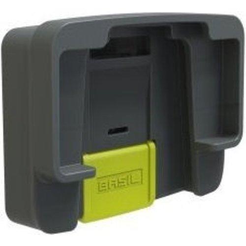 Basil Basil BasEasy klickfix adapter plaat - voor baseasy systeem en klickfix systeem - antraciet