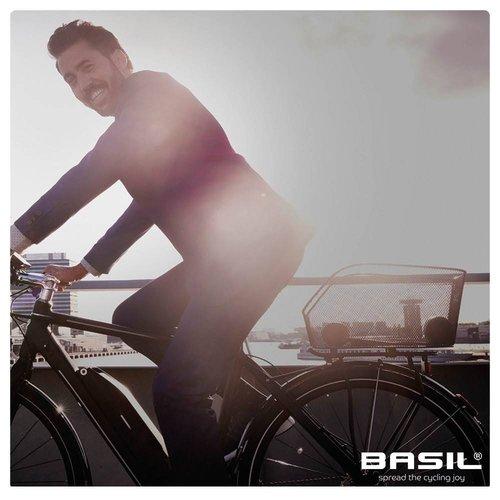 Basil Fietsmand Basil Icon M - zwart