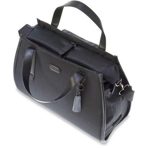 Basil Basil Noir Business Bag enkele Fietstas - Schoudertas - Handtas - 17 liter - Zwart